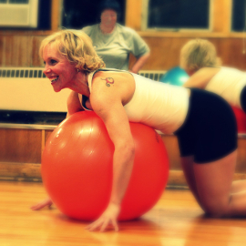 Farting in Fitness Class