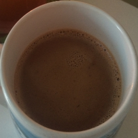homemade and healthier hot cocoa mug