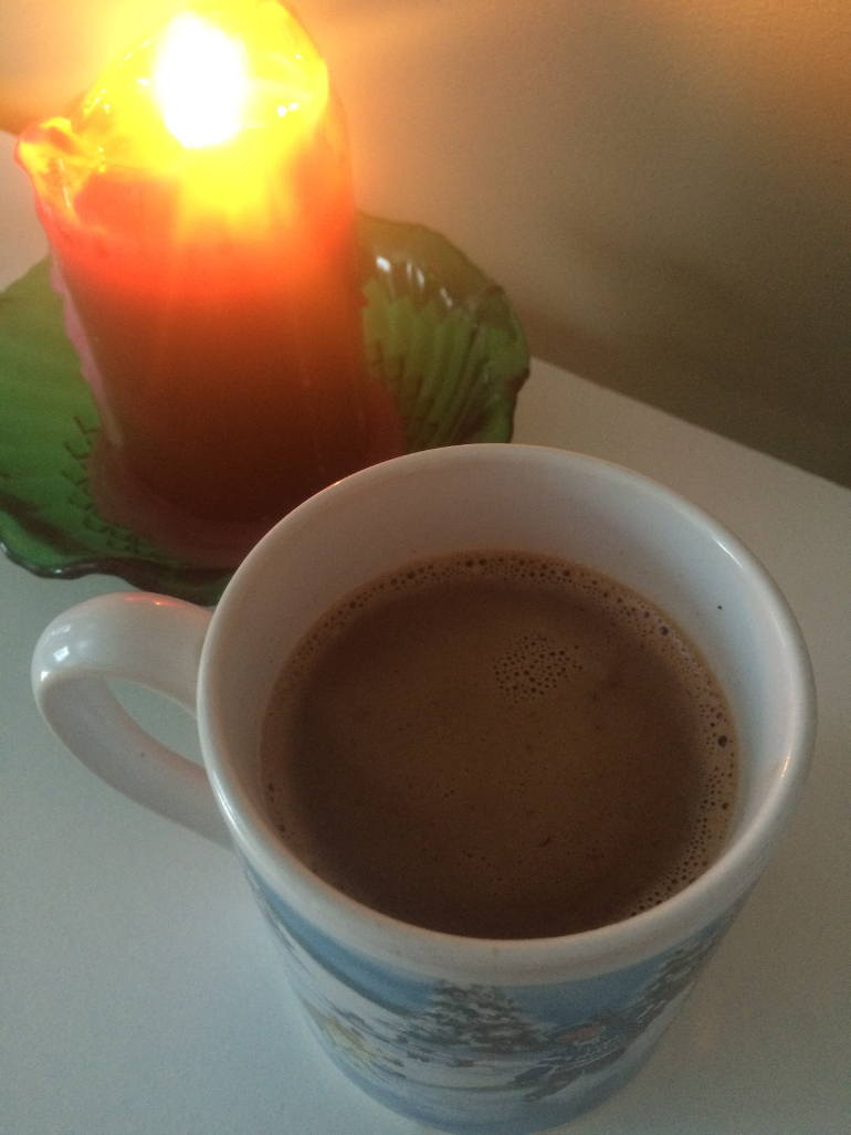 homemade and healthier hot cocoa