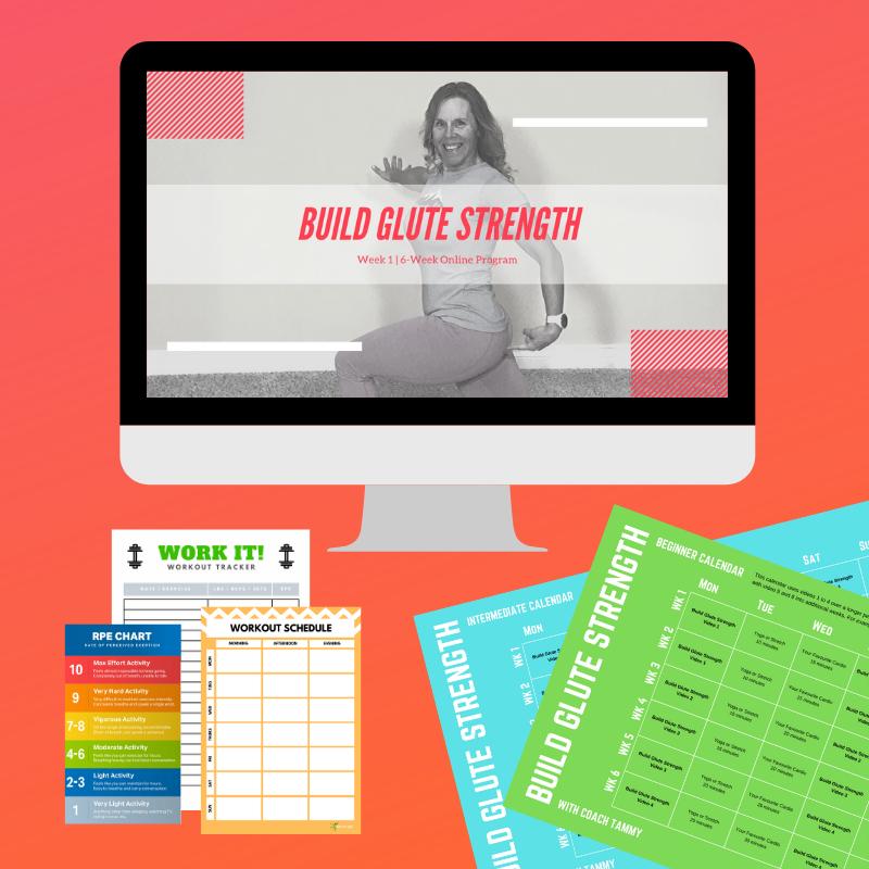 Build Glute Strength Free 6-Week Program GO FIT LIFE
