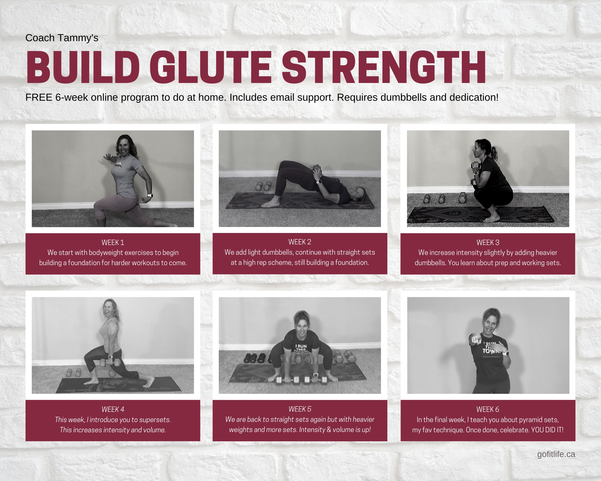 Build Glute Strength 6-Week Online Program