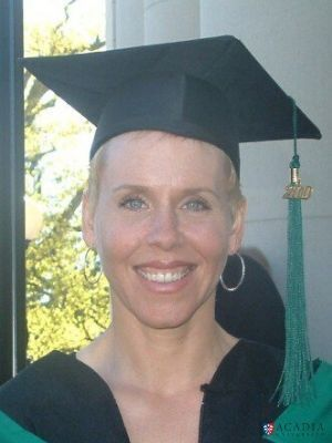 Acadia University Tammy Slauenwhite