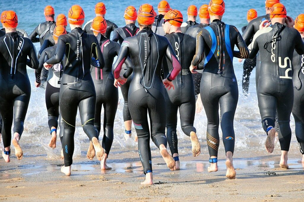 triathlon, ironman, swim
